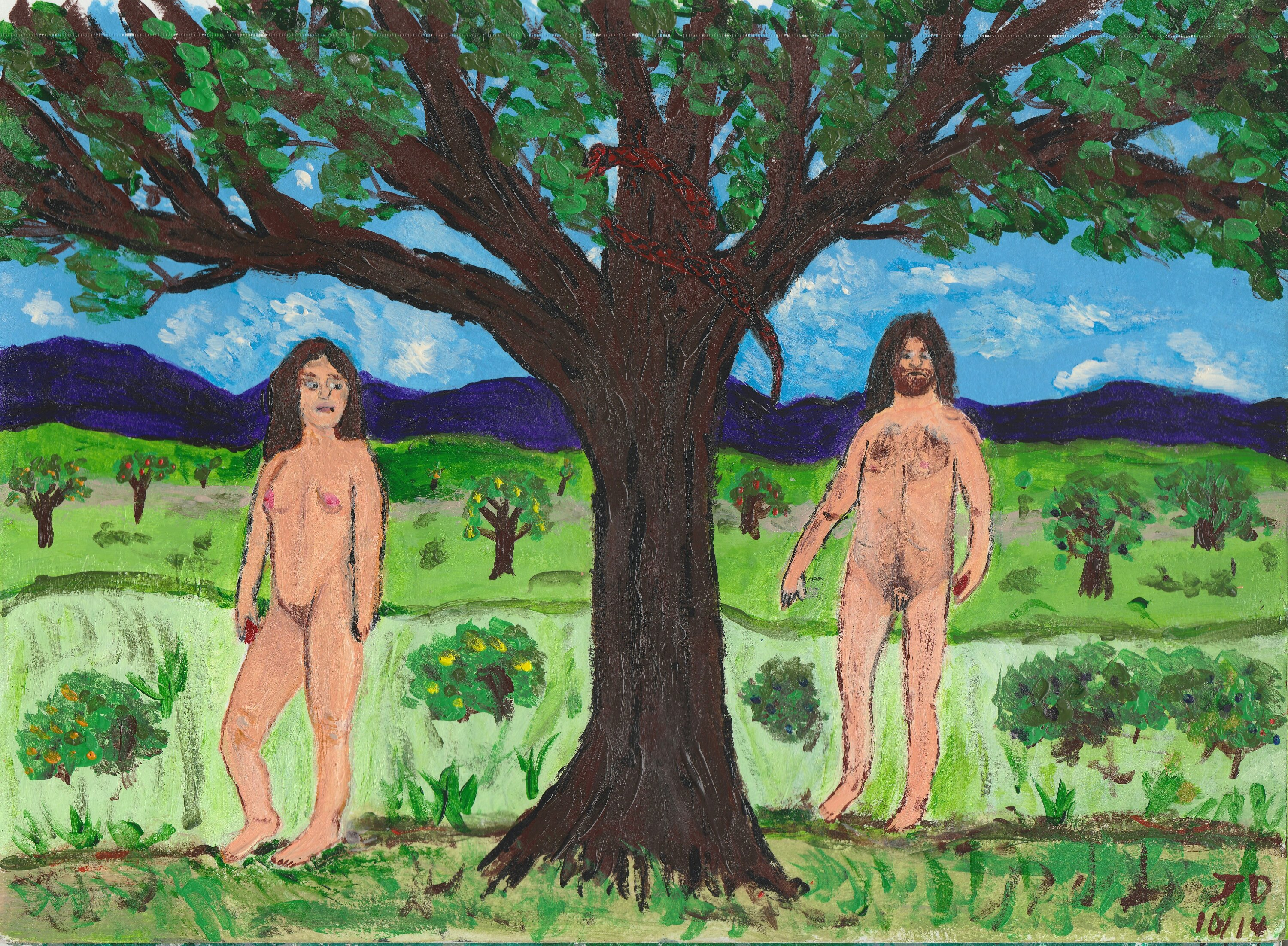 Genetic adam and eve traced but they didn't know each other